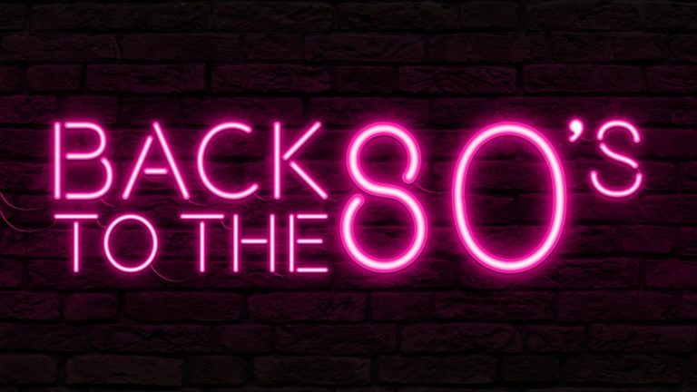 Back To The 80's - Neon