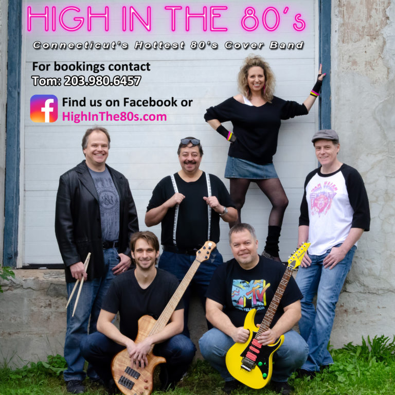 High In The 80s Band CD Cover